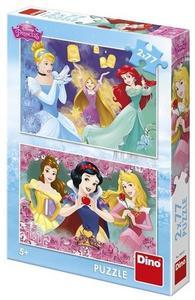 Obrázok Princezny 2x77 Puzzle nové