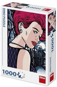Obrázok Pop art - Tajemná žena 1000 Puzzle nové