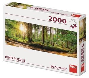 Obrázok Svítání v lese 2000 panoramic Puzzle nové