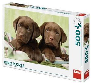 Obrázok Puzzle 500 Labradoři
