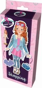 Magnetická panenka Na nákupech