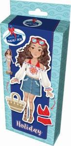 Obrázok Magnetická panenka Na prázdninách