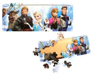 Obrázok Dřevěné puzzle Ledové království