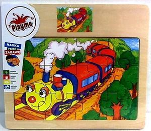 Obrázok Dřevěné puzzle Vláček