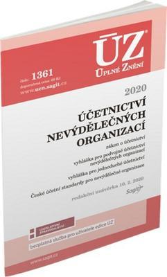 Obrázok ÚZ 1361 Účetnictví nevýdělečných organizací 2020