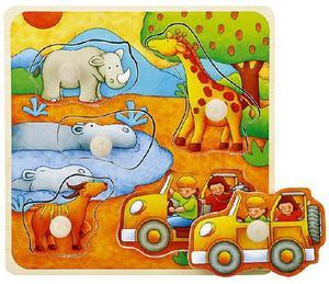Obrázok Vkládačka Na safari