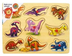 Obrázok Vkládačka Dinosauří kamarádi