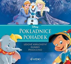 Obrázok Pokladnice pohádek Ledové království, Dumbo, Pinocchio