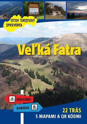 Obrázok Veľká Fatra Ottov turistický sprievodca