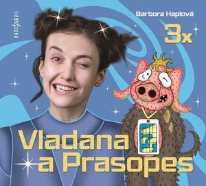 Obrázok 3x Vladana a Prasopes (3x CD - MP3)