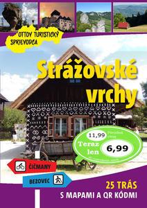 Obrázok Strážovské vrchy Ottov turistický sprievodca
