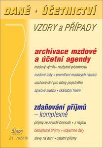 Daně Účetnictví Vzory a případy 4/2020 (21. ročník)