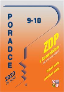 Obrázok Poradce 9-10 ZDP s komentářem (2020 25. ročník)