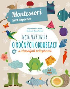 Obrázok Moja prvá kniha o ročných obdobiach (Montessori: Svet úspechov)