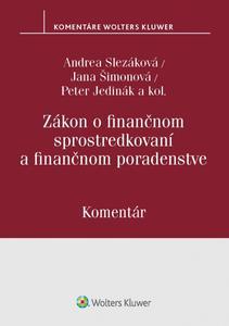 Obrázok Zákon o finančnom sprostredkovaní a finančnom poradenstve
