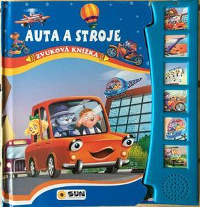 Obrázok Auta a stroje Zvuková knížka