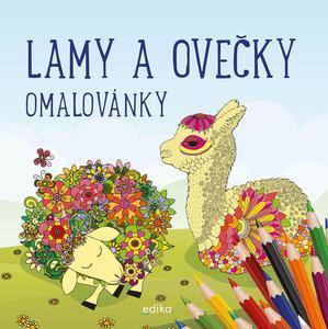 Obrázok Lamy a ovečky Omalovánky