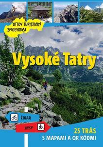 Obrázok Vysoké Tatry Ottov turistický sprievodca