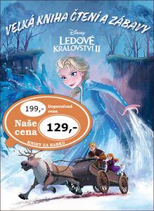 Obrázok Ledové království 2 Velká kniha čtení a zábavy