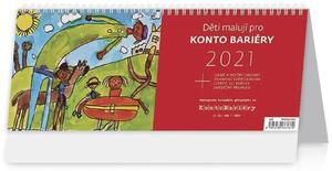 Obrázok Děti malují pro Konto Bariéry - stolní kalendář 2021