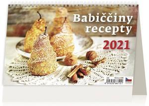 Obrázok Babiččiny recepty - stolní kalendář 2021