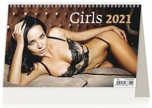Obrázok Girls ČR/SR - stolní kalendář 2021
