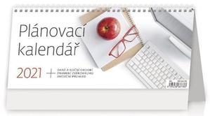 Obrázok Plánovací kalendář - stolní kalendář 2021