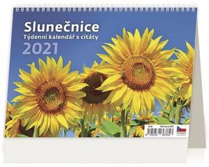 Obrázok Slunečnice - stolní kalendář 2021
