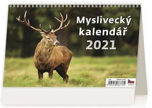 Myslivecký kalendář - stolní kalendář 2021