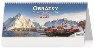 Obrázok Obrázky ze světa/Obrázky zo sveta - stolní kalendář 2021