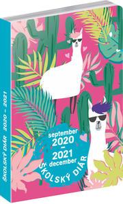Obrázok Školský diár Lamy 2020 - 2021