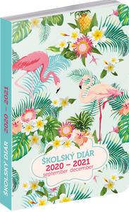 Obrázok Školský diár Plameniaky 2020-2021