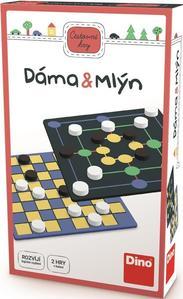 Obrázok Dáma & Mlýn Cestovní hra