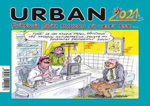 Urban Pivrncova dávka humoru na celej rok 2021 - stolní kalendář