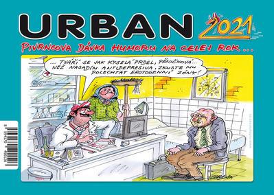 Obrázok Urban Pivrncova dávka humoru na celej rok 2021 - stolní kalendář