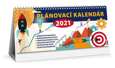 Obrázok Plánovací kalendár 2021 (stolový kalendár)