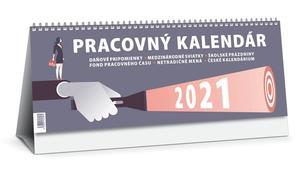 Obrázok Pracovný kalendár 2021 veľký (stolový kalendár)