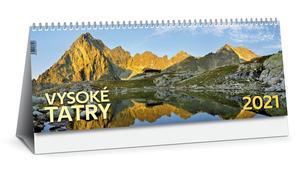 Obrázok Vysoké Tatry 2021 (stolový kalendár)
