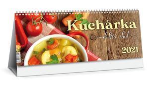 Obrázok Kuchárka 2021 (stolový kalendár)