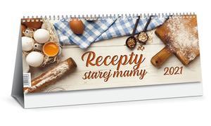 Obrázok Recepty starej mamy 2021 (stolový kslendár)