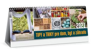 Obrázok Tipy a triky pre dom, byt a záhradu 2021 (stolový kalendár)