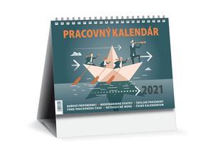 Obrázok Pracovný kalendár 2021 malý (stolový kalendár)