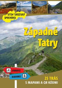 Obrázok Západné Tatry Ottov turistický sprievodca