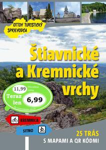 Obrázok Štiavnické a Kremnické vrchy Ottov turistický sprievodca