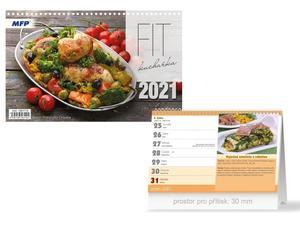 Obrázok FIT kuchařka - stolní kalendář 2021