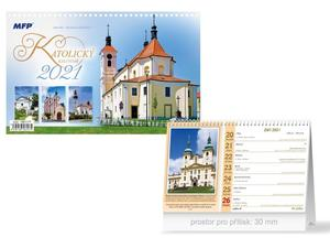 Obrázok Katolický - stolní kalendář 2021