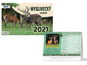 Obrázok Myslivecký - stolní kalendář 2021