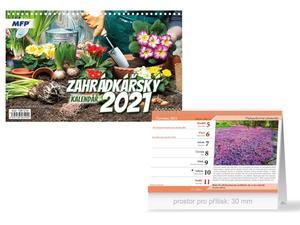 Obrázok Zahrádkářský - stolní kalendář 2021