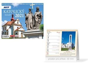 Obrázok Mini Katolický - stolní kalendář 2021