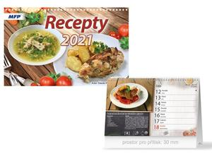 Obrázok Recepty - stolní kalendář 2021